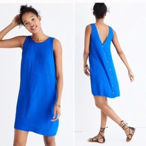 Madewell Lakeshore Button Back Dress